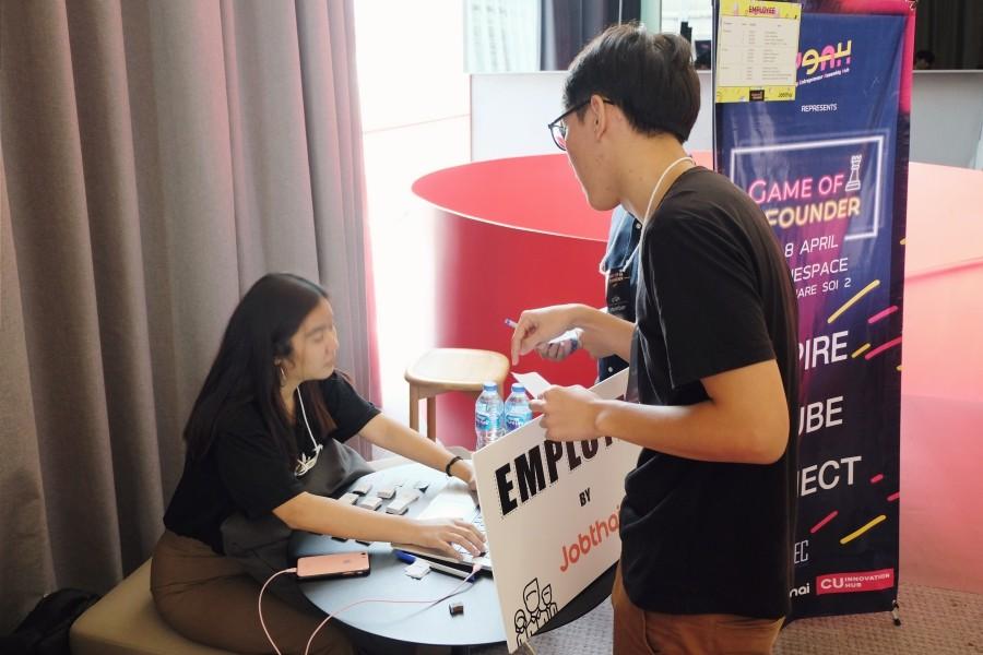 JobThai ร่วมเสริมสร้างศักยภาพการทำงานในโลกธุรกิจให้กับเยาวชนไทยในงาน Game of Founder JobThai ร่วมเสริมสร้างศักยภาพการทำงานในโลกธุรกิจให้กับเยาวชนไทยในงาน Game of Founder