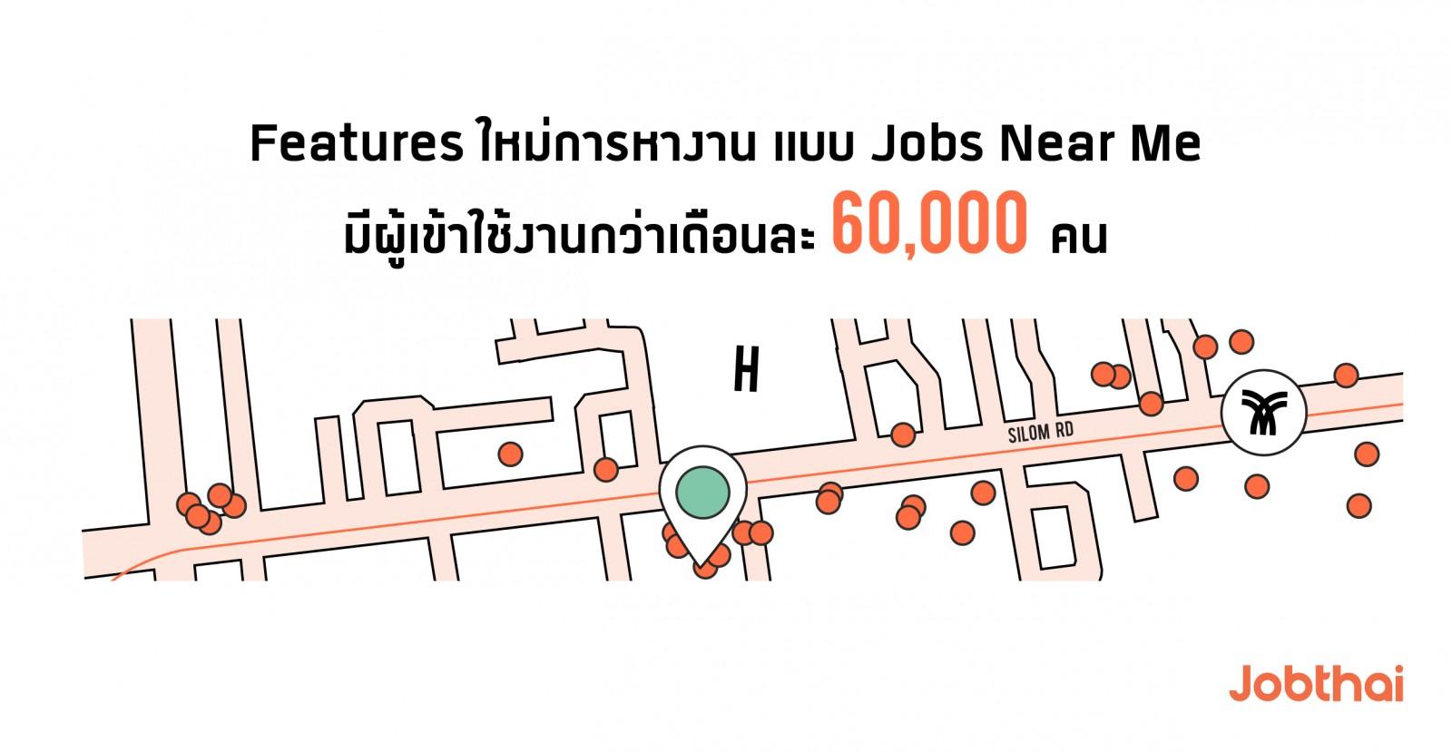 เจาะลึกพฤติกรรมการใช้งาน JobThai Mobile Application ช่วง 6 เดือนแรกของปี 2562  หางาน สมัครงาน Jobs Near Me